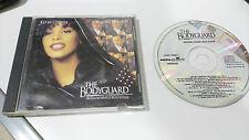 EL GUARDAESPALDAS THE BODYGUARD SOUNDTRACK CD WHITNEY HOUSTON OST SPANISH EDIT