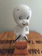 Vtg Casper The Friendly Ghost 1986 Candle Holder Halloween Trick or Treat Bag