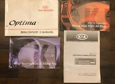 2004 Kia Optima Owner Manual Set