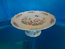 Aynsley English China - Cottage Garden - Footed Cake Plate