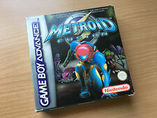 Nintendo Gameboy Advance GBA Metroid Fusion Game