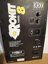 KRK ROCKIT 8 - 140W Bi-AMPED AUDIO PLATE AMPLIFIER --  100V INPUT JAPAN