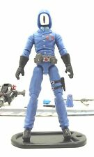 GI JOE COBRA RETALIATION ULTIMATE COBRA COMMANDER LOOSE 100% COMPLETE
