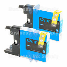 2 CYAN LC71 LC75 Compatible Ink Cartirdge for BROTHER Printer MFC-J435W LC75C