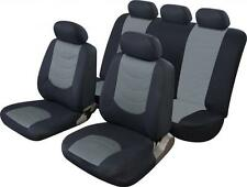 SEAT IBIZA LEON MII TOLEDO UNIVERSAL CAR SEAT covers Black/grey