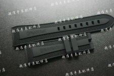 24mm*20mm rubber diving Watch Strap silicone Band for graham series of machine