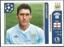 PANINI UEFA CHAMPIONS LEAGUE 2011-12- #047-MANCHESTER CITY-GARETH BARRY