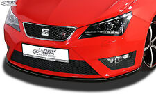 RDX Front alerón seat ibiza 6j FR & 6p FR Cup labio delantero enfoque espada ABS