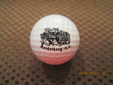 PING GOLF BALL/S-PINK/WHITE PING #4..HEIDELBERG GOLF CLUB LOGO.AUSTRALIA..9.7/10