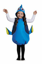 Disney's Finding Dory Girls Dory Classic Costume, One Size Child (up to size 6)