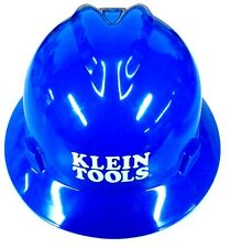 Klein Tools 60036 V-Gard Hard Hat with Klein Tools Standard Logo, Blue