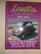 Isetta Gold Portfolio 1953-1964 book manual bmw velam iso buyers guide history