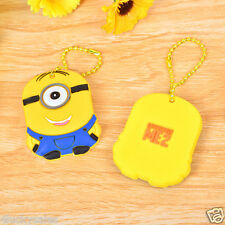 One eyed Minions Key Cover Key Case Chain Cap Keyring theme in Despicable Me