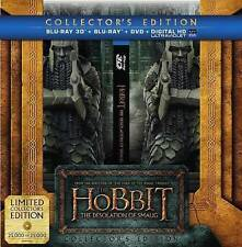 NEW The Hobbit: The Desolation of Smaug Collector's Edition Blu-ray 3D + DVD etc
