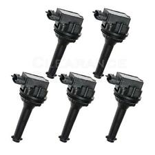 New Ignition coil 5 Pack for Volvo C70 S70 XC70 XC90 S60 UF341 C1258 9125601