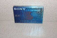 Sony Hi Fi Normal Bias 90 NEW & SEALED blank audio cassette tape