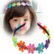 Mini Flower Hairband Garland Flower Hairband For Girls Flower Crown Hair Band UK