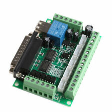 New 5 Axis CNC Breakout Board With Optical Coupler Fr Stepper Motor Driver MACH3