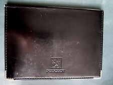 PEUGEOT - WALLET FOR OWNERS MANUAL HANDBOOK c2000 - 205 306 405 406 605