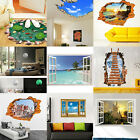 3D Family DIY Removable Sky Art Vinyl Wall Stickers Decal Mural Home Kids Decor