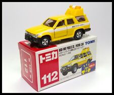 TOMICA 112 TOYOTA HILUX SURF HIGH WAY PUBLIC CO. PATROL CAR 1/65 TOMY DIECAST