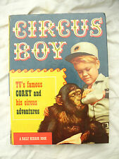 ANNUAL CIRCUS BOY A DAILY MIRROR BOOK 1958 MICKEY DOLENZ