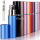 5ML REFILLABLE PERFUME AFTERSHAVE SPRAY ATOMIZER/ATOMISER FOR TRAVEL HANDBAG