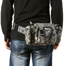 Utility Army Military Tactical Duffle Shoulder Waist Bag Molle Assault Backpack