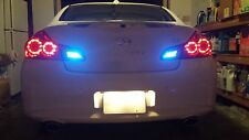 Blue LED Reverse Lights/Back Up For Infiniti G35 2003-2008 2004 2005 2006 2007