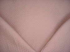 19+y SCHUMACHER BEAUTIFUL MAUVE DIAMOND COTTON MATELASSE UPHOLSTERY FABRIC