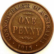 Australia. George V . One Peny 1915