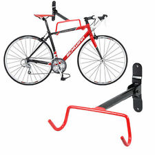 Garage Wall Mounted Bike Bicycle MTB Storage Rack Hook Holder & Fitting Screws