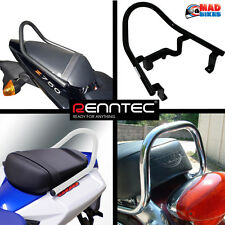 Kawasaki ZX10R 2008 to 2010 Renntec Pillion Grab Rail grab Handle (Black)
