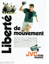 PUBLICITE ADVERTISING 096  1995  JVC   caméra  vidéo  VHS