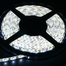 Car Boat Decor Waterproof Cold White 3528 SMD 300 LEDs Strip Light 5M Flexible