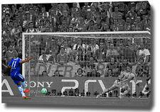 """Drogba Imprimé Poster Photo Toile Mur Art 30 """"x20"""" 2012 Chelsea Champions League"""