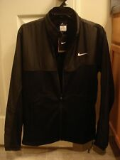 NWT Nike Winter Hyperply Black Jacket 378658-100 Nadal Federer NEW Medium RARE