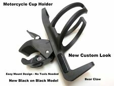 Motorcycle Cup Can Bottle Drink Beverage Holder No Slip HD Clamp Quick Connect