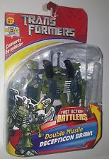 Hasbro Transformers Fast Action Battlers Double Missle Decepticon Brawl 2006