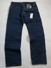 JEANS G-STAR ATTACC STRAIGHT 3D RAW  RED LISTING SELVAGE  W31 L30 VALEUR 180€