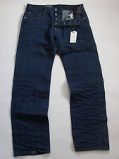 JEANS  G-STAR ATTACC  STRAIGHT 3D RAW  RED LISTING SELVAGE  W32  L30 VALEUR 180€