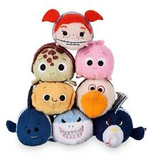 New Genuine Disney Store Tsum Tsum Finding Nemo Complete Set Bruce Pearl Etc