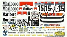 DECALS FORD SIERRA COSWORTH 2V MAR**ORO TOUR DE CORSE 1987 SAINZ 1/43 RACING 43