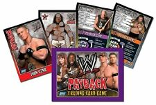 WWE Payback 2007 Trading and Game Cards Cards set 96,  Game Cards 24