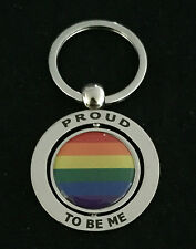 PROUD TO BE ME RAINBOW KEYCHAIN GIFT AUSSIE SOUVENIR LESBIAN GAY LGBT PRIDE
