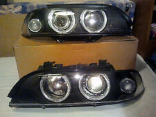NEW 2x BMW E39 LED Angel Eyes DEPO H7 Headlight Facelift FaceGarage Edition