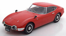 Triple 9 1967 Toyota 2000 GT Gloss Red Color 1:18*New Item*Rare!