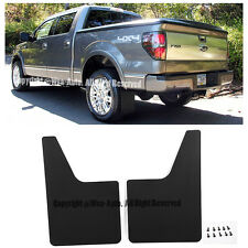 For 10-14 Ford F150 SVT Raptor Rear Conversion Mud Flaps Splash Guard Kit