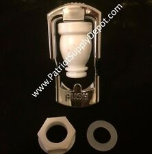 Water Faucet Dispenser Push Type Plastic Silver water spigot Made in USA