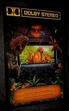 Original1990 DOLBY STEREO D/S Theatre Poster GREAT FOR A HOME THEATER